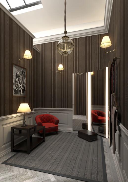 Studio Persevoir 3D Anderson & Sheppard à Londres