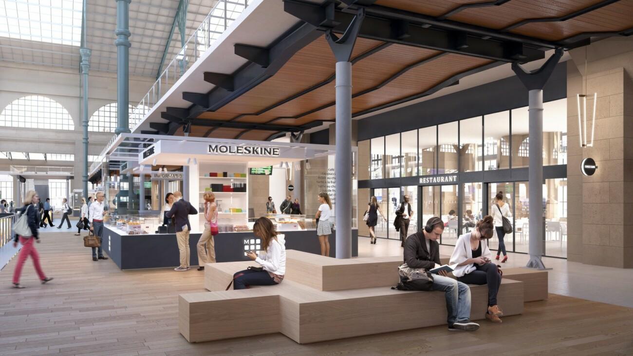 Studio Persevoir 3D Gare du Nord à Paris