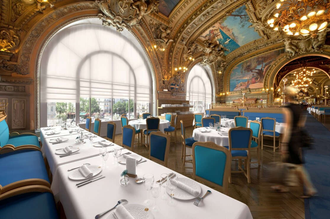 Studio Persevoir 3D Le train bleu gare de lyon à Paris
