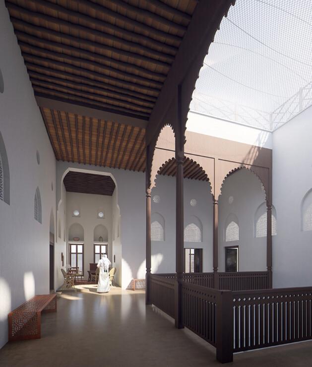 Studio Persevoir 3D projet du musée français d'Oman